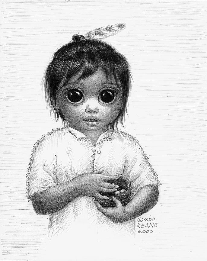 POMO INDIAN BABY