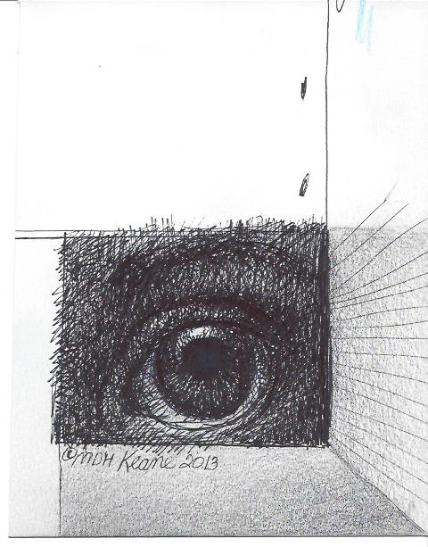 single eye in box