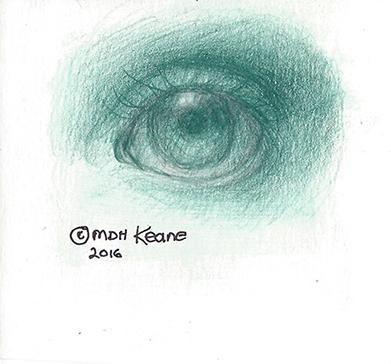 eye see green