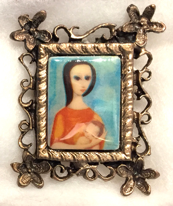 Mother and Child II pendant