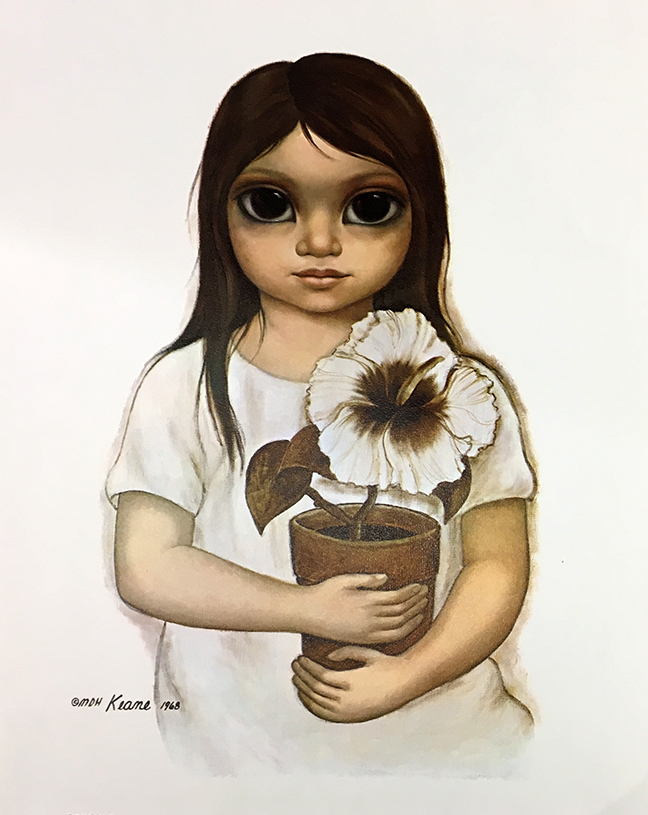 Hibiscus Miss canvas