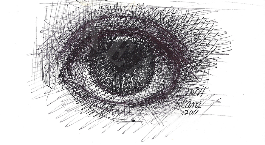 single eye doodle 1