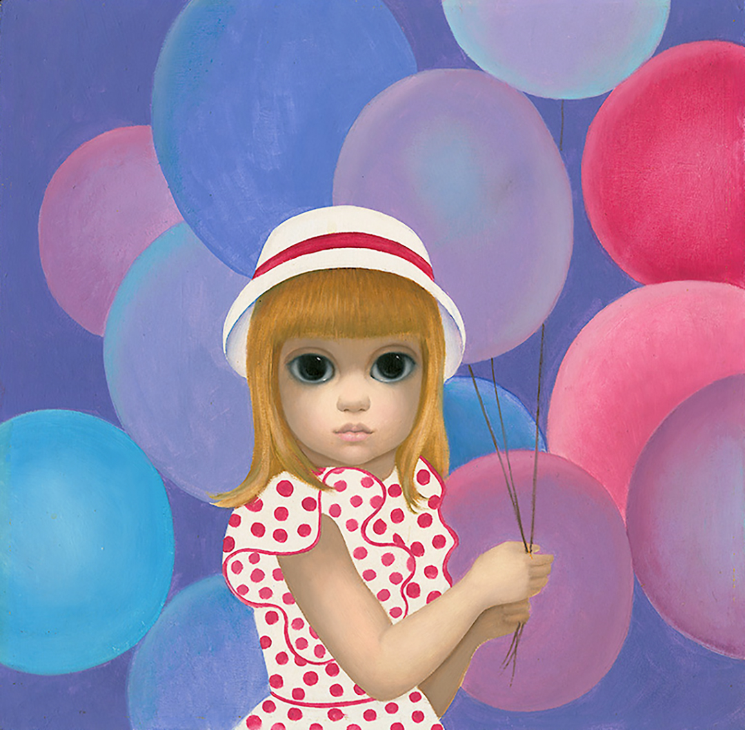 Girl With Balloons Limited Edition Print
