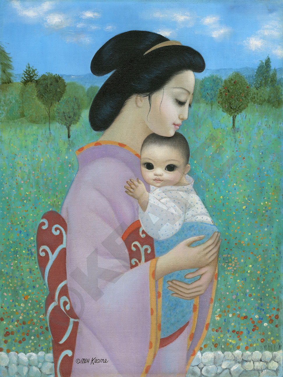 mother and child, 1994