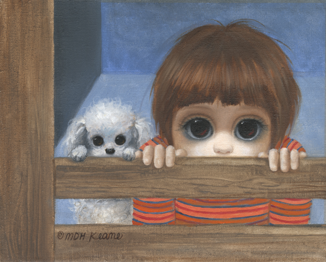 Boy and Poodle